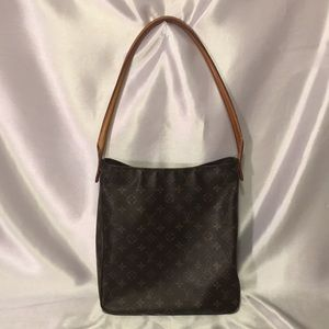Authentic Louis Vuitton Looping GM Hand Bag